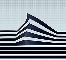 Funky Little Modernist Wave by modernistdesign