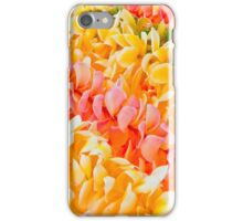 Twin Bright Pink and Yellow Plumeria  iPhone Case/Skin