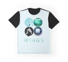BTS Wings ~ Blue Version Graphic T-Shirt