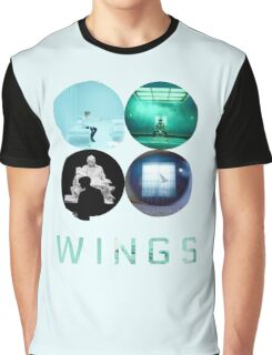 BTS Wings ~ Blue Version Graphic T-Shirt
