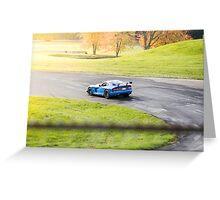 Viper TA at Grattan Raceway, MI Greeting Card