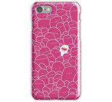 Stand Out pink iPhone Case/Skin