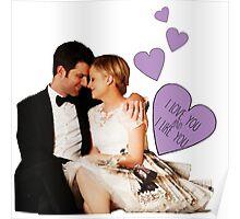 Ben & Leslie - I Love You & I Like You  Poster