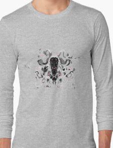 Little Wiggly Horror Long Sleeve T-Shirt