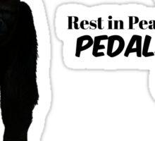Harambe & Pedals Sticker