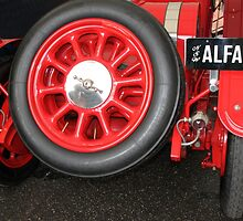 Alfa Romeo G1, 1921, Rear End  by Carole-Anne