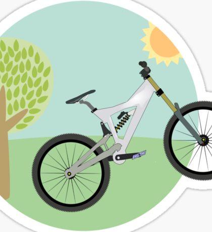 Downhill mountainbike Sticker