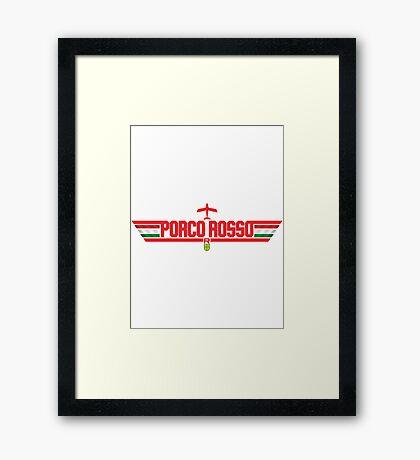 Top Pig Framed Print