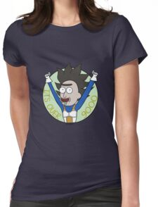Its Over 9000 Womens Fitted T-Shirt