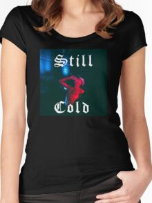 Still Cold Night Lovell Women's Fitted Scoop T-Shirt