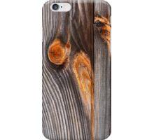 Weathered Wood Siding iPhone Case/Skin