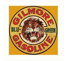 Blu-Green Gilmore Gasoline Art Print