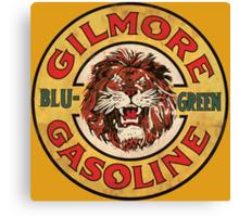 Blu-Green Gilmore Gasoline Canvas Print