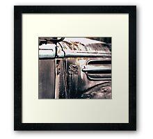 Old Ford Truck Framed Print