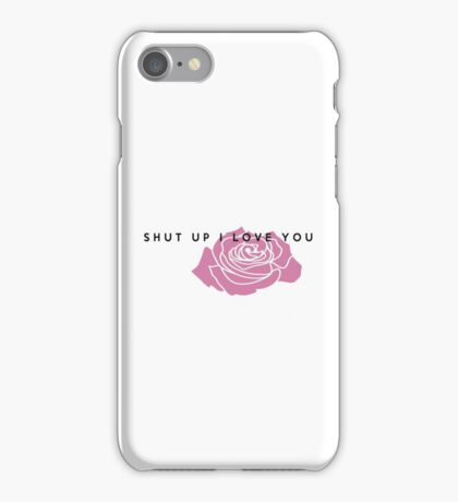 LANY - Shut Up I Love You iPhone Case/Skin