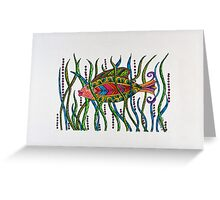 Go Fish1! Greeting Card