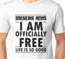 Officially free Unisex T-Shirt