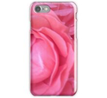 Hot Pink Roses iPhone Case/Skin