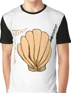 FIGHT SCALLOP Graphic T-Shirt
