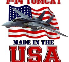 F-14 Tomcat Made in the USA by Mil Merchant