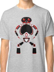 Red Power Robot Classic T-Shirt
