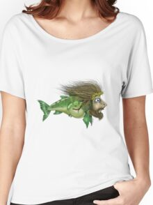 Jesus Fish Women's Relaxed Fit T-Shirt