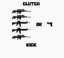 Clutch or Kick Men's Baseball ¾ T-Shirt