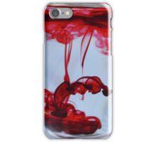Red Dye iPhone Case/Skin