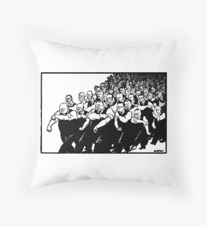 All behind you, Winston Throw Pillow