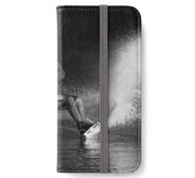 Wake boarding in the Shadows  iPhone Wallet/Case/Skin