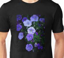 Blue Glory - Cheery Blue Blossoms Unisex T-Shirt