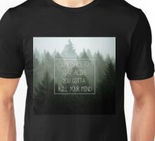 twenty one pilots Migraine Lyric Art Unisex T-Shirt