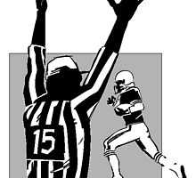 Referee Touchdown by kwg2200