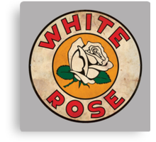 White Rose Oil And Gas Canvas Print