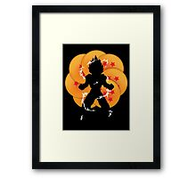Saiyan Power Framed Print