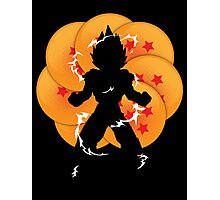 Saiyan Power Photographic Print
