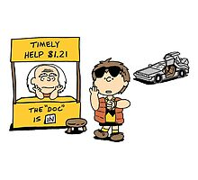 Peanuts Back 2 The Future by GeekStorm
