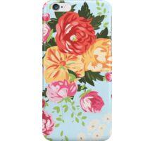 Vintage Springtime Floral iPhone Case/Skin