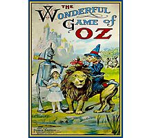 OZ; Vintage Game Advertising Print Photographic Print
