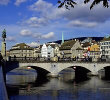 Reflections of Zurich by Charmiene Maxwell-Batten
