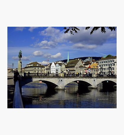 Reflections of Zurich Photographic Print