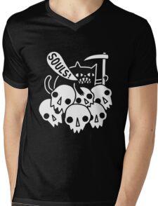 Cat Got Your Soul  Mens V-Neck T-Shirt