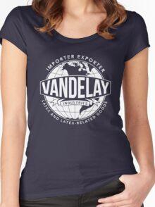 VANDELAY Women's Fitted Scoop T-Shirt