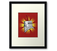 Born to Praise Framed Print