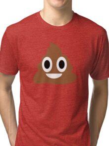 Happy POO! Tri-blend T-Shirt