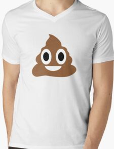 Happy POO! Mens V-Neck T-Shirt