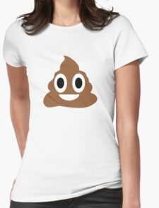 Happy POO! Womens Fitted T-Shirt