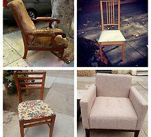 Velvet Chair by Barbara Wyeth