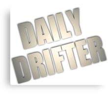 Daily Drifter Canvas Print