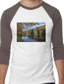 First Breath Of Autumn  Men's Baseball ¾ T-Shirt